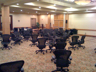 The great Aeron Chair Rodeo