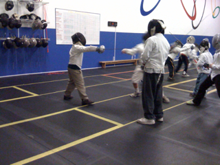 Yet more fencing class